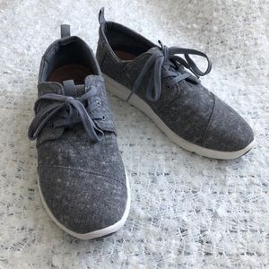 Toms Laced Grey Sneaker